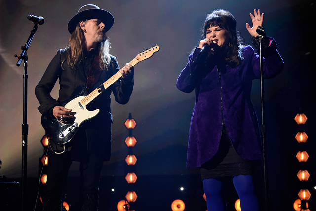 Ann Wilson and Jerry Cantrell - Photo by Kevin Mazur, Getty Images