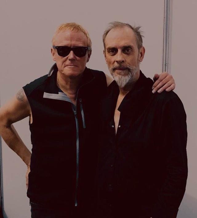 Peter Murphy and David J : Photo: Darwin Meiners