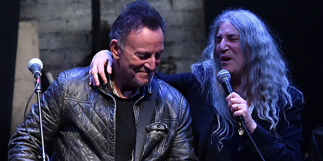 Patti Smith, Bruce Springsteen