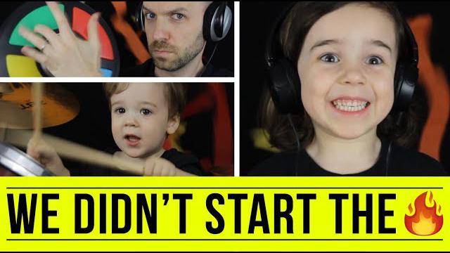 We Didn't Start the Fire - Kids Version (Billy Joel) | FREE DAD VIDEOS