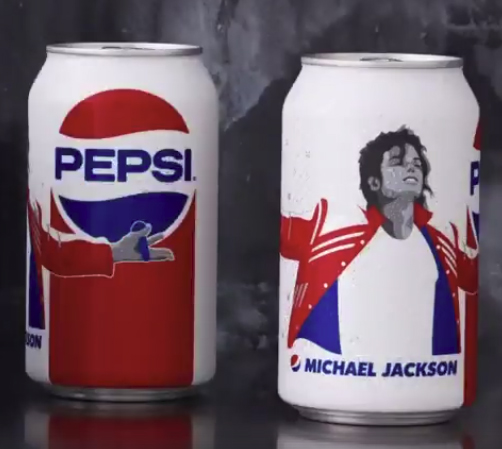 Michael Jackson new limited edition Pepsi can