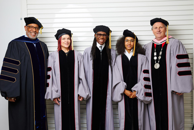 Nile Rodgers, Rosanne Cash, Esperanza Spalding Honored at Berklee College of Music Commencement