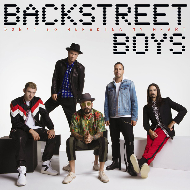 Backstreet Boys / DON'T GO BREAKING MY HEART