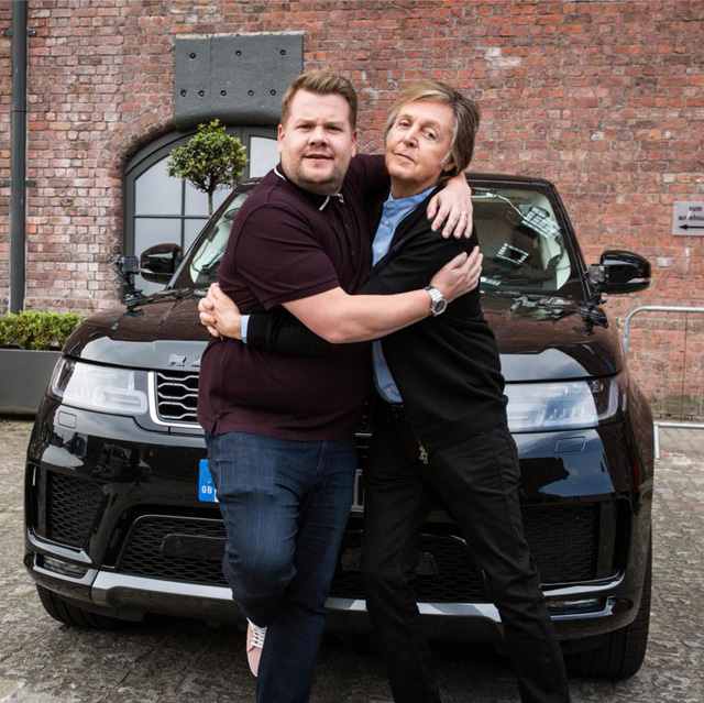 Paul McCartney Carpool Karaoke - The Late Late Show with James Corden