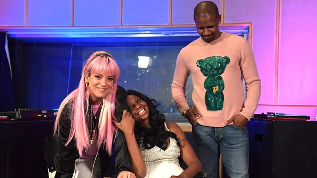 Lily Allen with Giggs and Lady Chann