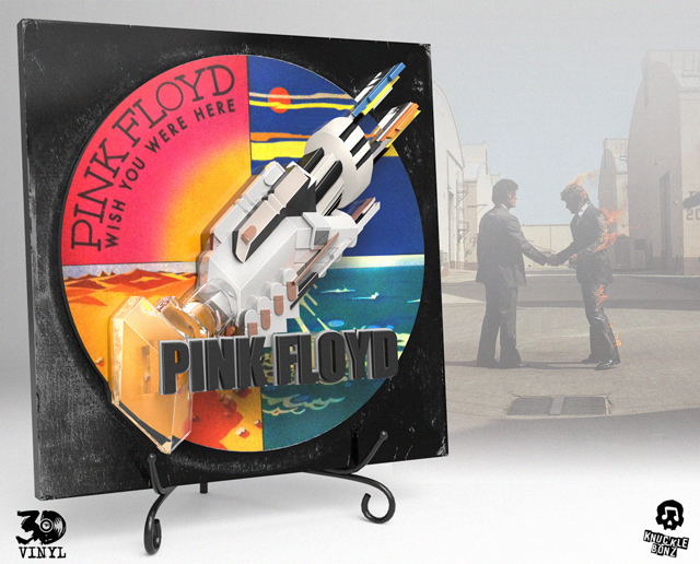 Pink Floyd (Wish You Were Here) 3D Vinyl