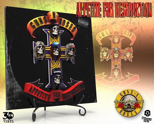 Guns N' Roses (Appetite for Destruction) 3D Vinyl