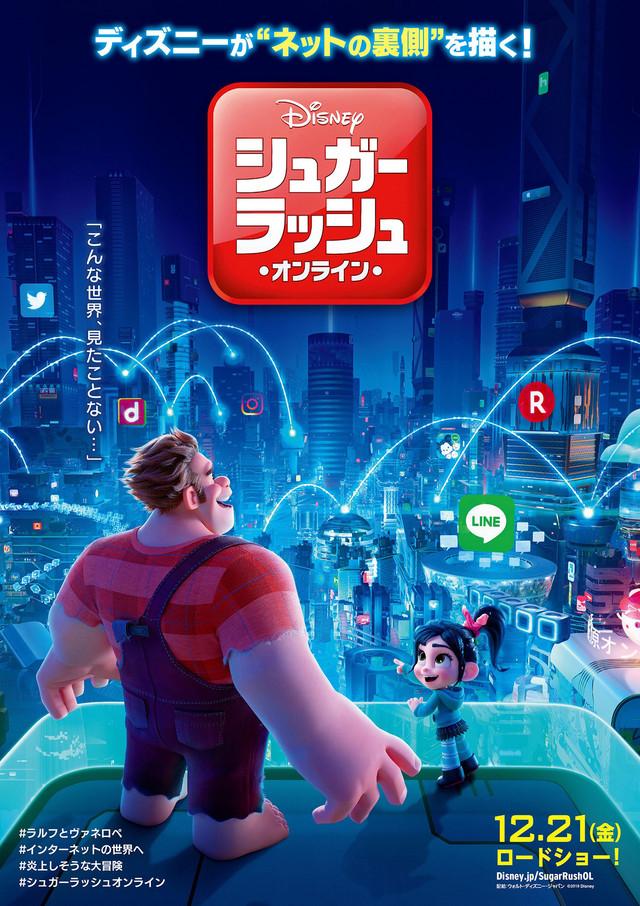 シュガー・ラッシュ:オンライン(C)2018 Disney. All Rights Reserved.