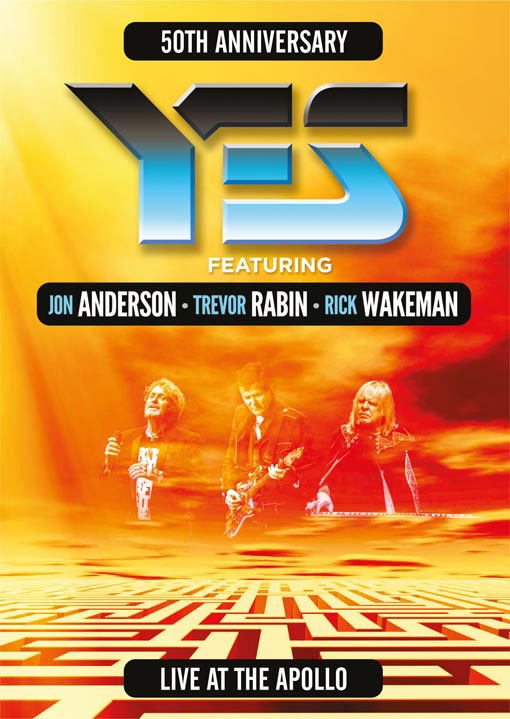 YES featuring Jon Anderson, Trevor Rabin & Rick Wakeman / Live At The Apollo