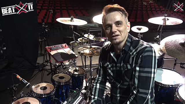 Gavin Harrison's King Crimson 2018 World Tour Drum Kit
