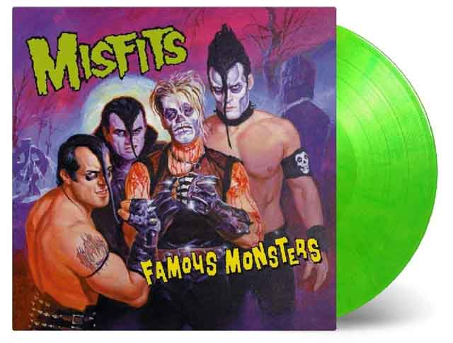 Misfits / Famous Monsters [180g LP/transparent green & yellow mixed coloured vinyl]