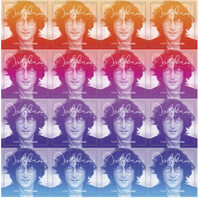 U.S. Postal Service - John Lennon Stamp