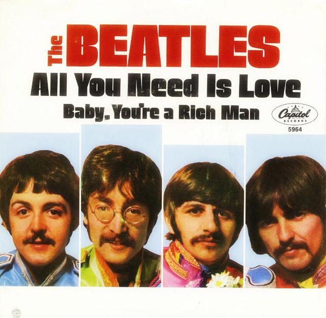ビートルズ all you need is love が子供向けの絵本に 米国で2019年1月