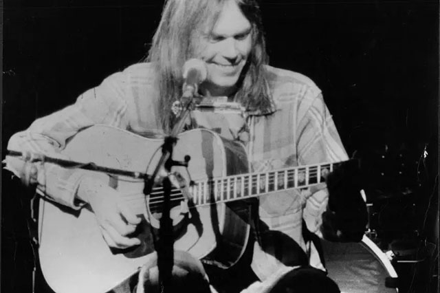 Neil Young - Photo by David Thorpe/ANL/REX/Shutterstock