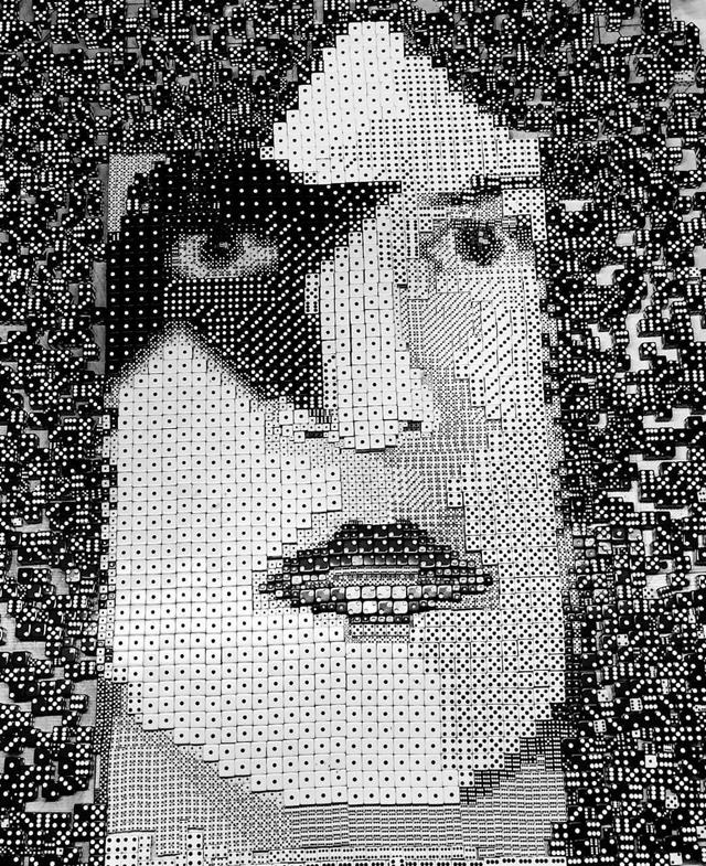 Paul Stanley dice portrait