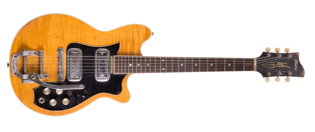 George Harrison – 1963 Maton Mastersound MS-500 electric guitar stage-played with The Beatles