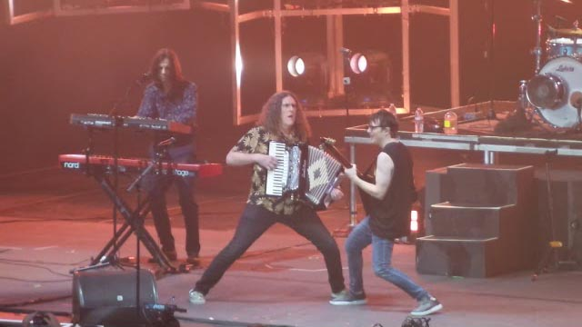 Weezer with Weird Al Yankovic