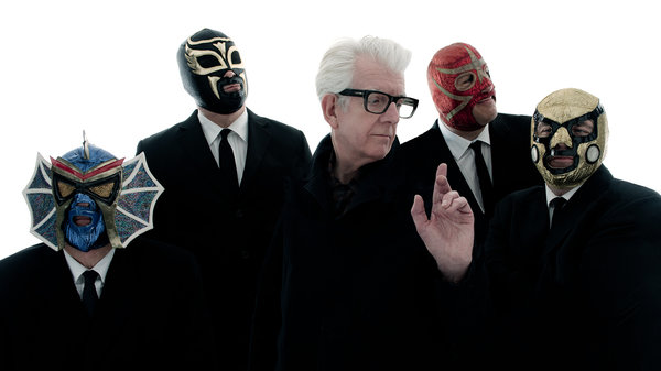 Nick Lowe & Los Straitjackets - Photo by Jim Herrington/Courtesy of the artist