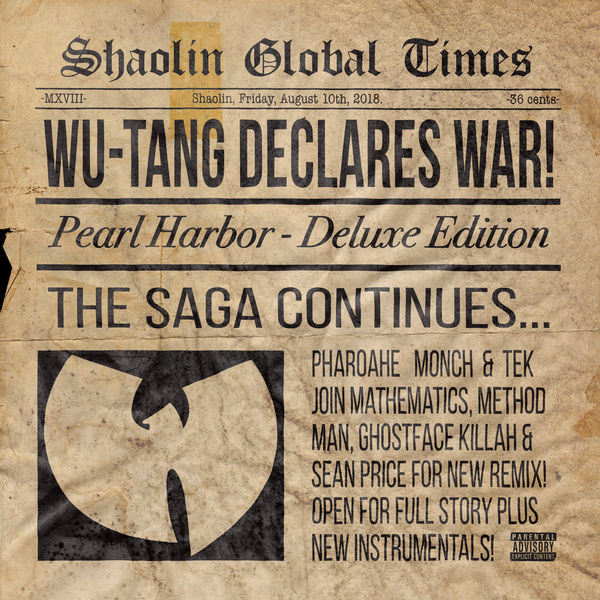 Wu-Tang Clan / Pearl Harbor (Remix) [feat. Mathematics, Method Man, Ghostface Killah, Sean Price, Pharoahe Monch, Tek] - Single