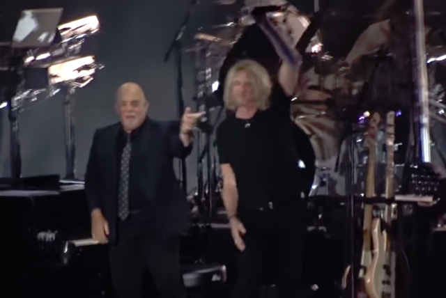 Billy Joel and Joe Elliot