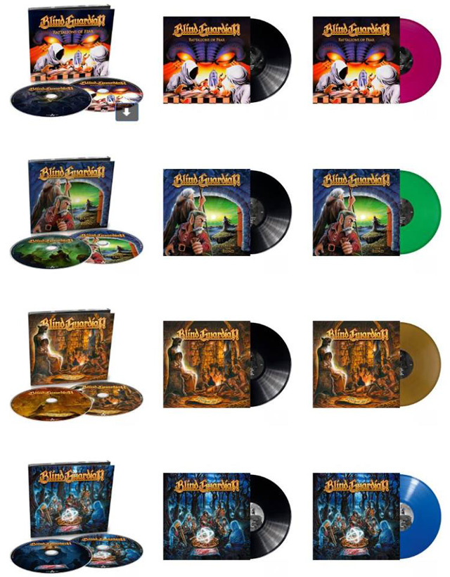 Blind Guardian TO RE-RELEASE FIRST FOUR ALBUMS IN SEPTEMBER 2018