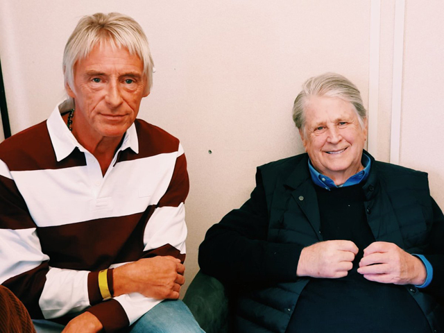 Brian Wilson and Paul Weller - Photo: Mark Carr
