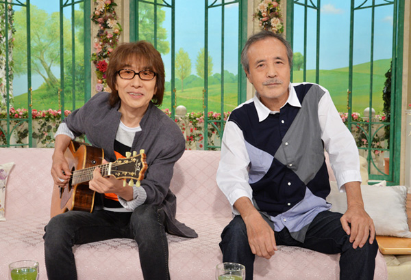 岡林信康&坂崎幸之助 『徹子の部屋』(c)テレビ朝日