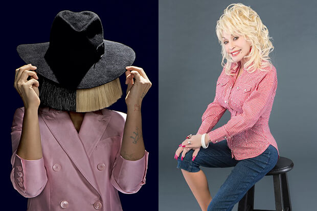Sia and Dolly Parton
