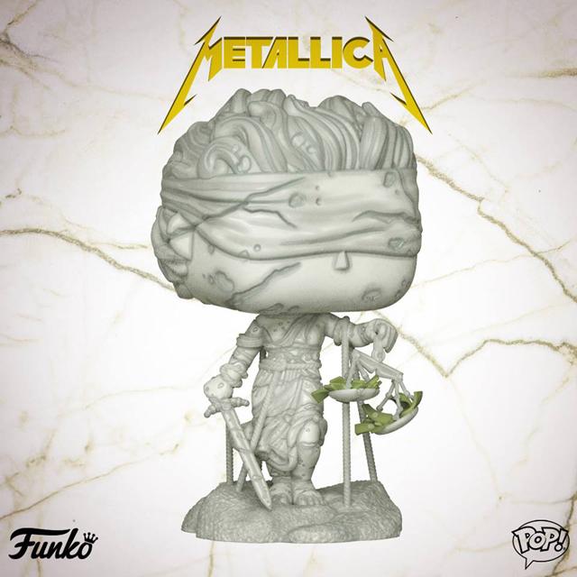 Pop! Rocks: Metallica - Lady Justice