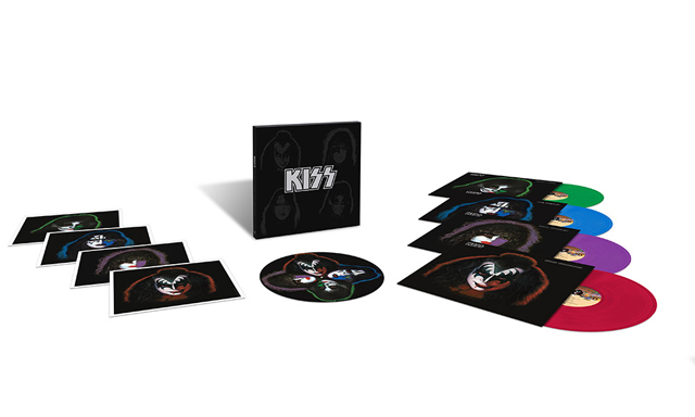 KISS: The Solo Albums 40th Anniversary 4LP Box Set