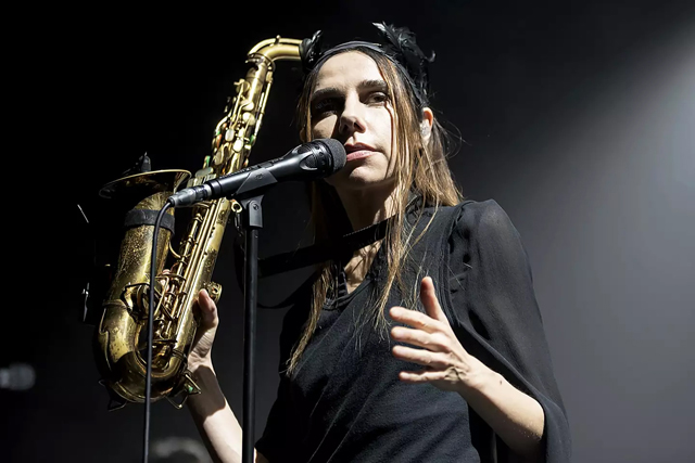 PJ Harvey - Photo by ichard Nicholson/Music Pics/REX/Shutterstock