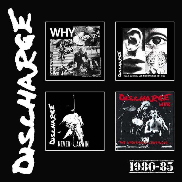 Discharge / 1980-85: 4CD Clamshell Boxset