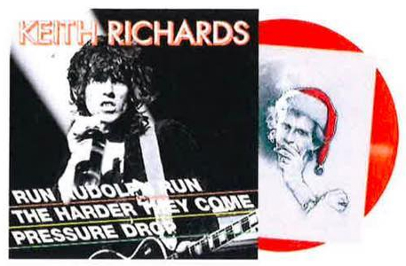 Keith Richards / Run Rudolph Run (40th Anniversary red vinyl 12