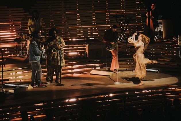 Florence and the Machine with Kamasi Washington - photo by Ryan Muir