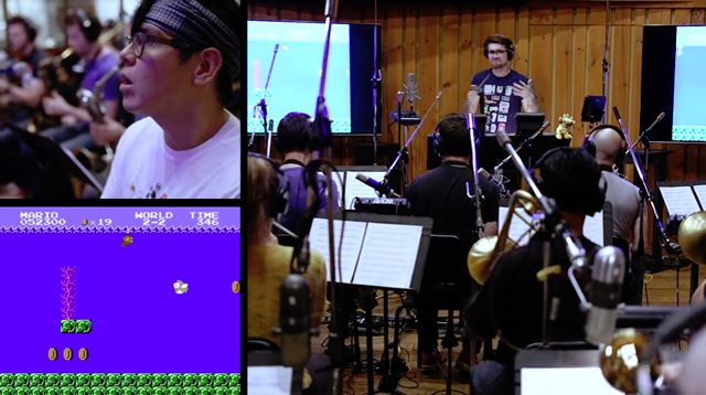 The 8-Bit Big Band / Let's Play - Super Mario Bros. LIVE w/FULL ORCHESTRA! (ep.1)
