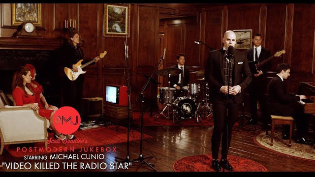 Postmodern Jukebox / Video Killed The Radio Star - The Buggles (Queen / Freddie Mercury Style Cover) ft. Cunio