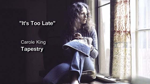 キャロル・キング 「It's Too Late」のリリックビデオ公開