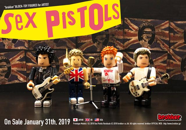 SEX PISTOLS - brokker (C) 2018 Sex Pistols Residuals (C) 2018 brokker co.,ltd. All rights reserved.