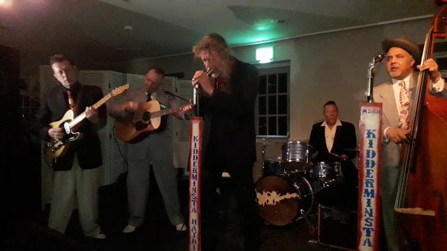 The Hayriders with Robert Plant