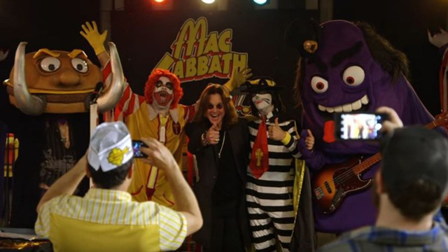 Ozzy Osbourne with Mac Sabbath, courtesy of Adrenaline PR