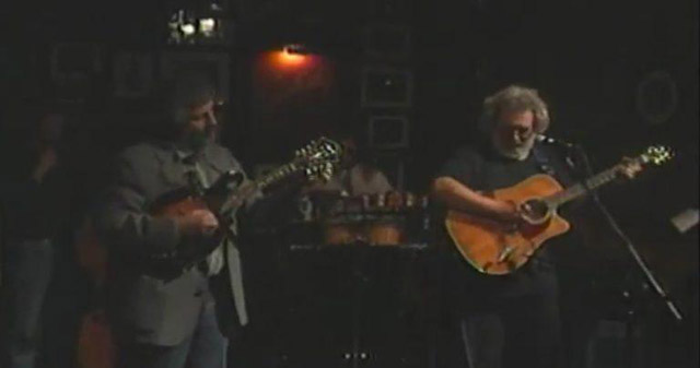 Jerry Garcia and David Grisman