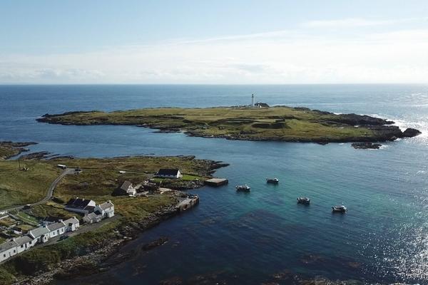 BSフジ『最果ての島 アイラを往く 〜自然、人、酒が心ふるわすケルトの地〜』(c)BSフジ
