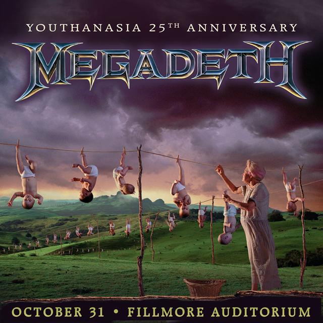 Megadeth Youthanasia 25th anniversary show