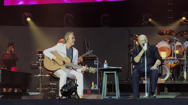 Phil Collins and Mike Rutherford