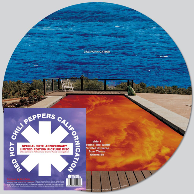 Red Hot Chili Peppers / Californication [20TH ANNIVERSARY DOUBLE PICTURE DISC LP]