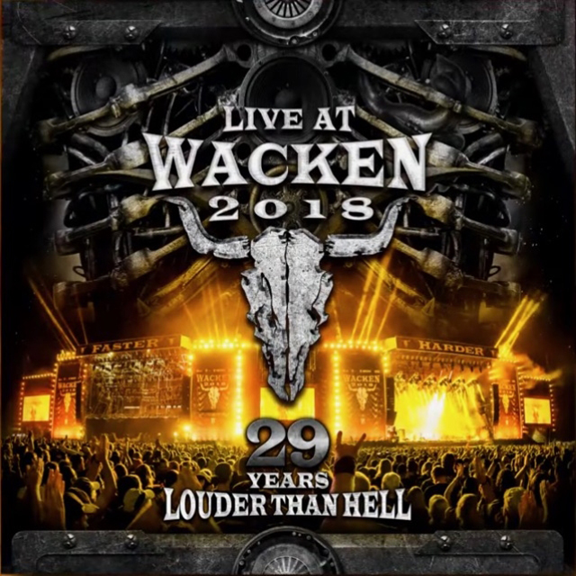 VA / Live At Wacken 2018: 29 Years Louder The Hell