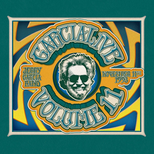 Jerry Garcia Band / GarciaLive Volume 11, November 11th, 1993 Providence Civic Center