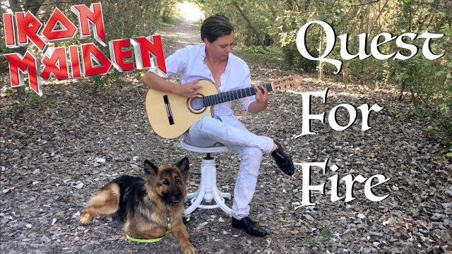 Quest For Fire (IRON MAIDEN) Acoustic - Thomas Zwijsen