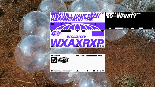 Warp Records × NTS Radio - WXAXRXP