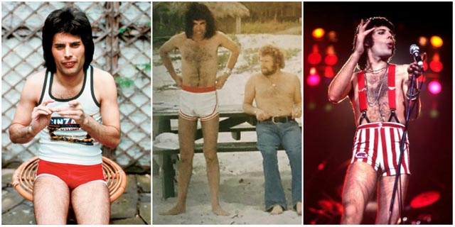 24 Fascinating Vintage Photographs of Freddie Mercury in His Short Shorts - Vintage Everyday
